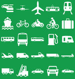 Transport Related Graphics Royalty Free Stock Photo