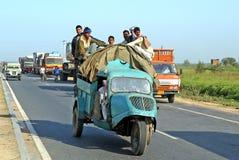 Transport in Repubblic von Indien Lizenzfreie Stockbilder