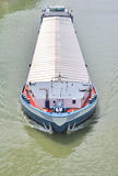 Transport by river barge Stock Photography