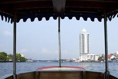 Transport river Chao Phraya tourism snenic  Bangkok Royalty Free Stock Photos