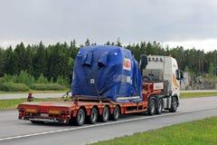 Transport routier industriel d'objet d'ABB Photo stock