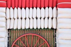 Transport of sacks Stock Photography