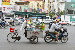 Transport in Saigon, Vietnam Royalty Free Stock Images
