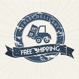 Transport seal Royalty Free Stock Images