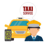 Transport service design Stock Images