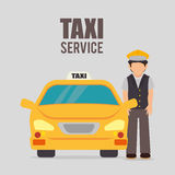 Transport service design Royalty Free Stock Photo