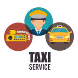 Transport service design Royalty Free Stock Images