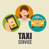Transport service design Stock Photo