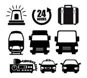Transport service design. Illustration eps10 graphic Royalty Free Stock Photos