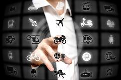 Transport services Royalty Free Stock Photo