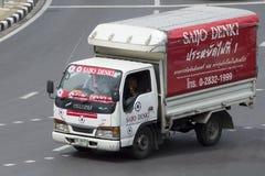 Transport Services truck of saijo denki international co. ltd Stock Image