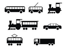 Transport set Royalty Free Stock Images