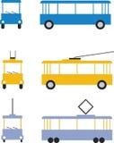 Transport set color 01. Transport set in color 01 stock illustration