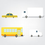 Transport set images Royalty Free Stock Photography