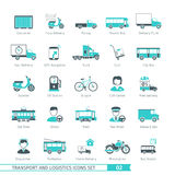 Transport Set 02 Royalty Free Stock Photography