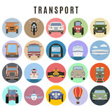Transport  set Royalty Free Stock Photography