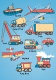 Transport Set. Stock Photos