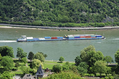 Transport ship Stock Image