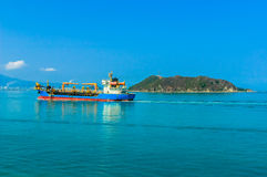 Transport ship royalty free stock photos