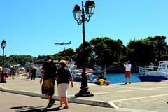 Transport, Skiathos, Grèce Image libre de droits
