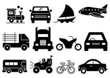 Transport solide d'icônes illustration de vecteur