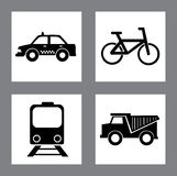 Transport square design Royalty Free Stock Images