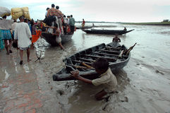 Transport of Sundarban-India Royalty Free Stock Photography