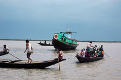 Transport of Sundarban-India Stock Image