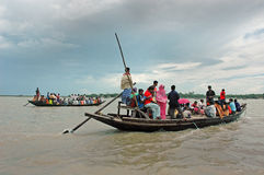 Transport of Sundarban-India Royalty Free Stock Images