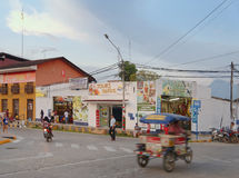 Transport, tarapoto, peru Royalty Free Stock Photo