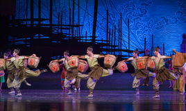 """Transport team-Dance drama """"The Dream of Maritime Silk Road"""". Dance drama """"The Dream of Maritime Silk Road"""" centers on the plot of two Stock Image"""