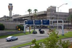 Transport terrestre d'aéroport Images stock
