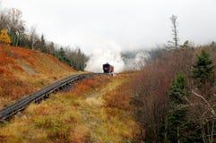 Transport, Track, Rail Transport, Mountainous Landforms stock image