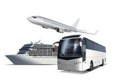 Transport for travel Royalty Free Stock Photo