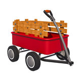 Transport Trolley Royalty Free Stock Photos