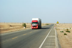 Transport truck Royalty Free Stock Photography
