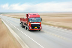 Transport truck Royalty Free Stock Photo