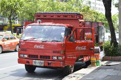 Transport Truck of coca cola Stock Photography