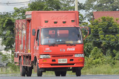 Transport Truck of coca cola Royalty Free Stock Image