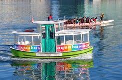Transport unique à Vancouver, Canada Photo stock