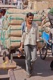 Transport urbain dans l'Inde Image stock
