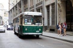 Transport in Valparaiso, Chile Lizenzfreies Stockbild