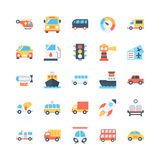 Transport Vector Icons 1 Royalty Free Stock Photography