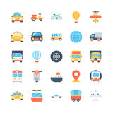 Transport Vector Icons 3 Royalty Free Stock Images