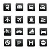 Transport vector Icons set illustrator Stock Photo