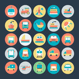 Transport Vector Icons 2. We're honored to present to you a set of travel  icons that are simple, useful and optimal for projects, Suitable for any UI and Stock Photos
