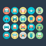 Transport Vector Icons 5 Royalty Free Stock Image