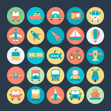 Transport Vector Icons 1. We're honored to present to you a set of travel  icons that are simple, useful and optimal for projects, Suitable for any UI and Stock Photos