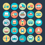 Transport Vector Icons 4. We're honored to present to you a set of travel  icons that are simple, useful and optimal for projects, Suitable for any UI and Stock Photo