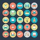 Transport Vector Icons 3 Stock Photography